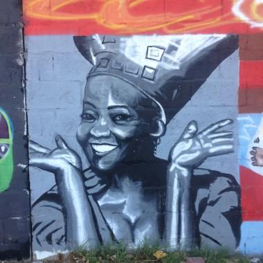 Langa Quarter Street Art1 Brenda Fassie