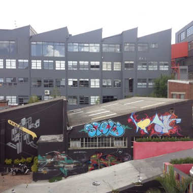 Sidestreet Studios and the Woodstock Exchange, at the heart of the Woodstock design precinct