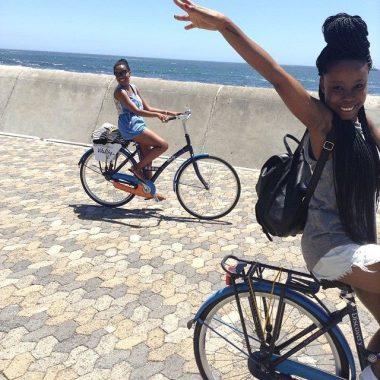Cycling along the Atlantic Seaboard